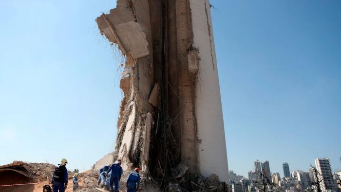 Ermittler nehmen führende Hafen-Vertreter in Beirut fest