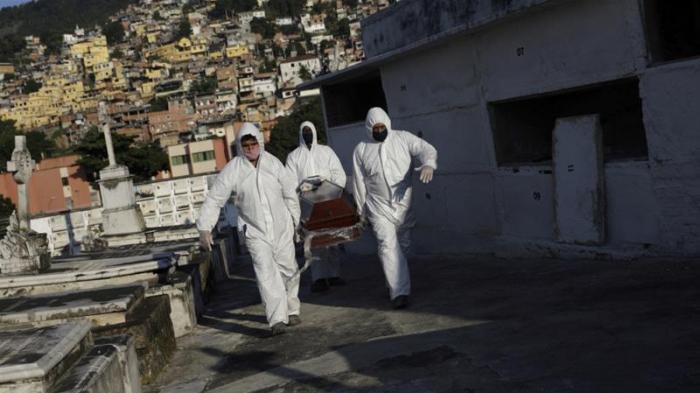 Brazil's coronavirus death toll exceeds 100,000
