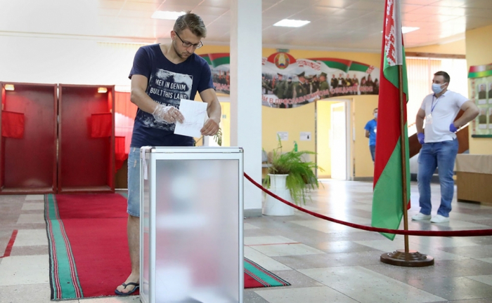 Presidential election starts in Belarus