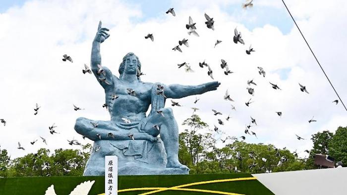 Nagasaki träumt von atomwaffenfreier Welt