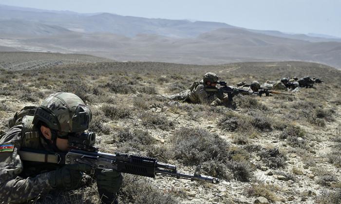 Spezialeinheiten nehmen an der ersten Stufe der taktischen Übungen teil