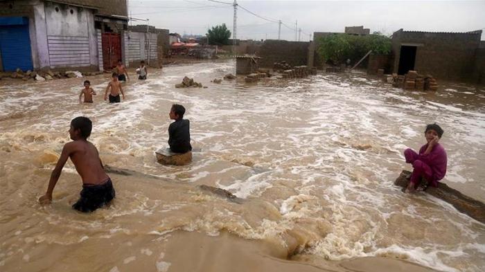 Monsoon floods leave at least 50 dead in Pakistan