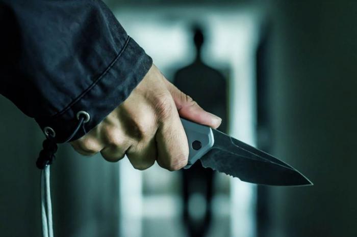 Polisin bıçaqlanmasına görə cinayət işi başlanıldı