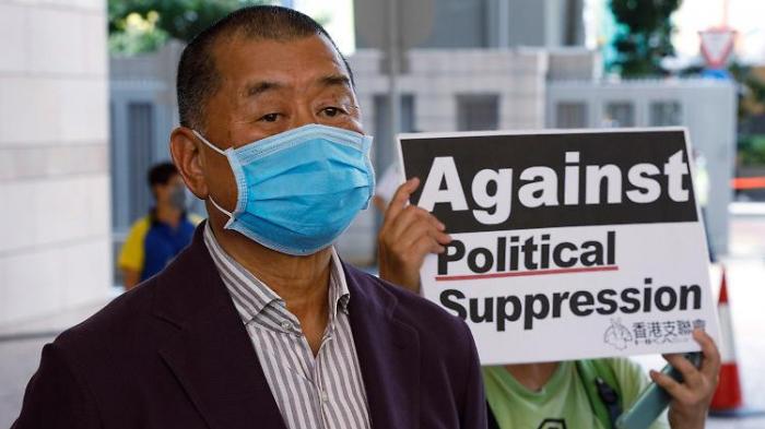 Hongkongs Medienmogul Lai festgenommen