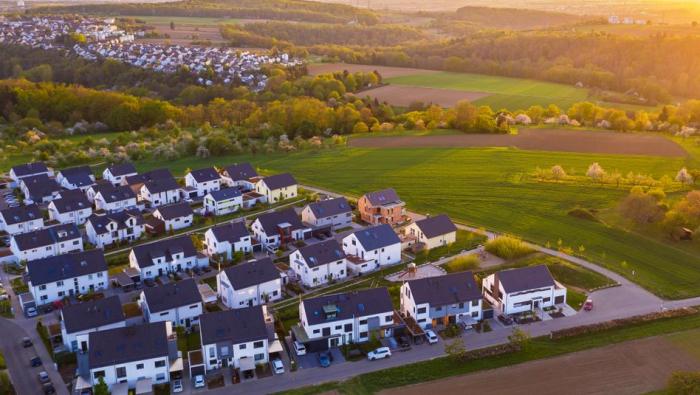 Häuserpreise steigen während der Coronakrise stark