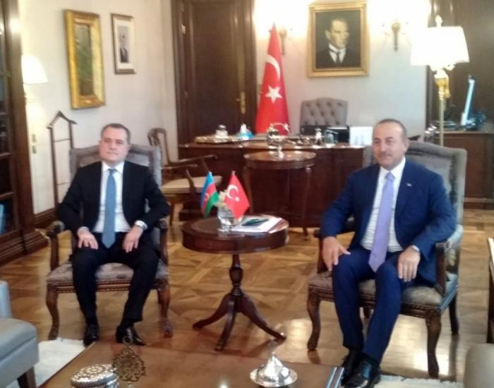 Azərbaycan və Türkiyə XİN rəhbərləri  -