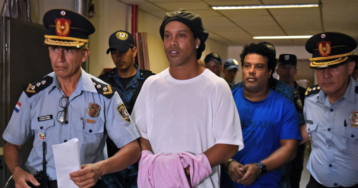 Brazil great Ronaldinho could be freed on August 24: sources