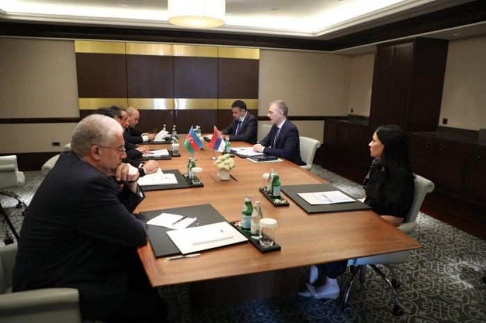 Bakou:  une réunion s