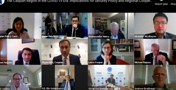 Washington analiza el impacto de la pandemia por COVID-19 en la región del Caspio