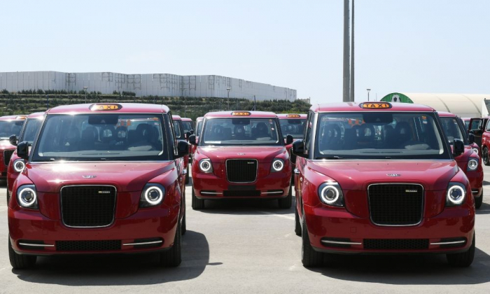 New LEVC TX London taxis delivered to Baku run on electricity –   PHOTOS