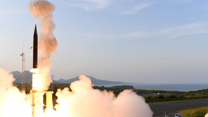 Israel prueba con éxito un sistema antimisiles construido conjuntamente con EEUU
