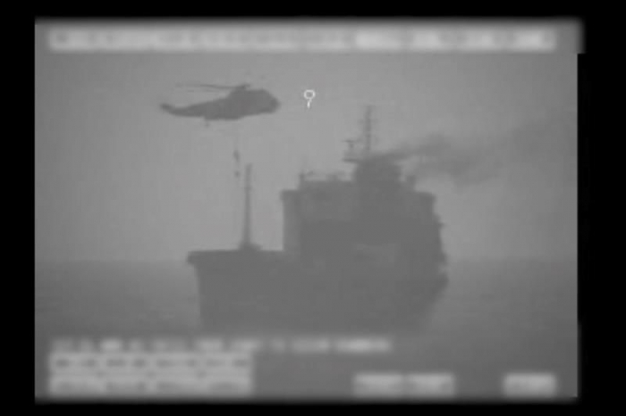 Iranian navy seizes Liberian oil tanker near Strait of Hormuz, says US