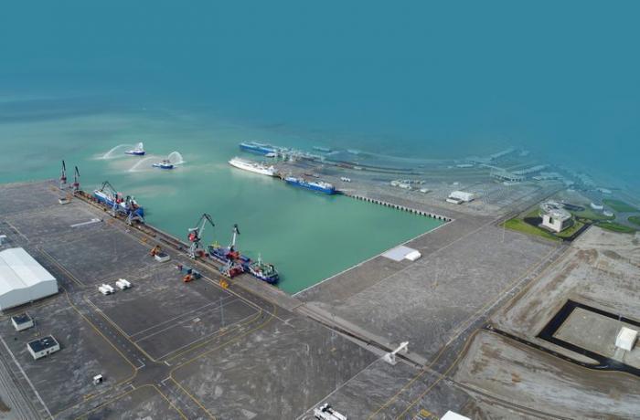 إرسال 27 شخصًا إلى كازاخستان من ميناء باكو