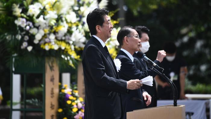 Indignación en Japón por los discursos de Shinzo Abe en Hiroshima y Nagasaki