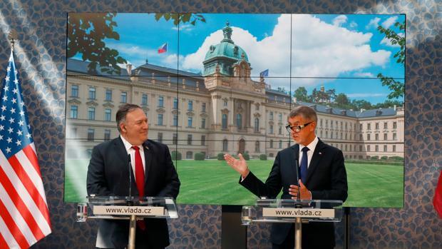Gira de Pompeo por Europa central con el motivo de forjar un frente contra China
