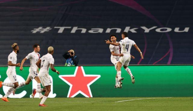 PSG beat Atalanta to reach Champions League semis