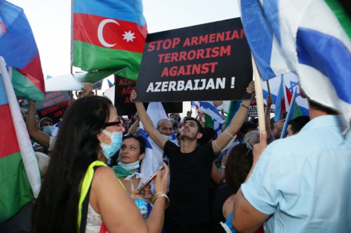 Jewish Press: Hundreds of Azerbaijani Jews demonstrate against Armenia's aggression