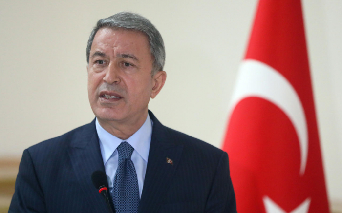 """In struggle of Azerbaijan for liberation of Karabakh we are next to our brothers"" - Turkish Defense Minister"