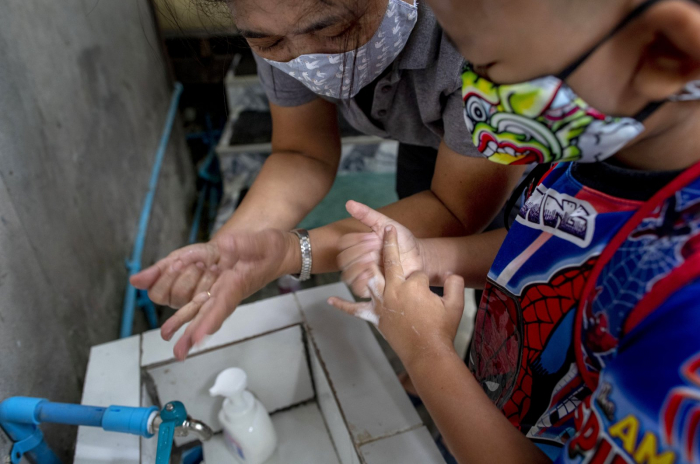 About 820 million children lack handwashing facilities at school, UN warns
