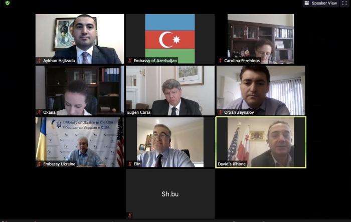 Les ambassadeurs des pays de GUAM aux États-Unis ont discuté des questions de coopération