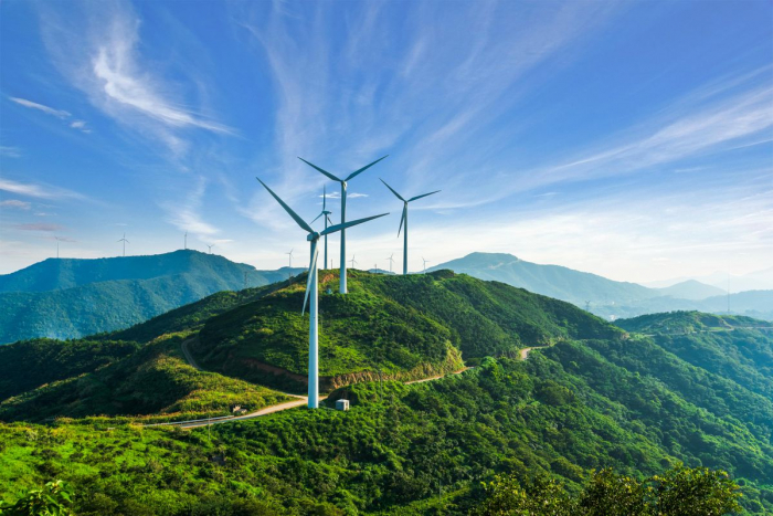 Coal is being replaced with wind and solar energy