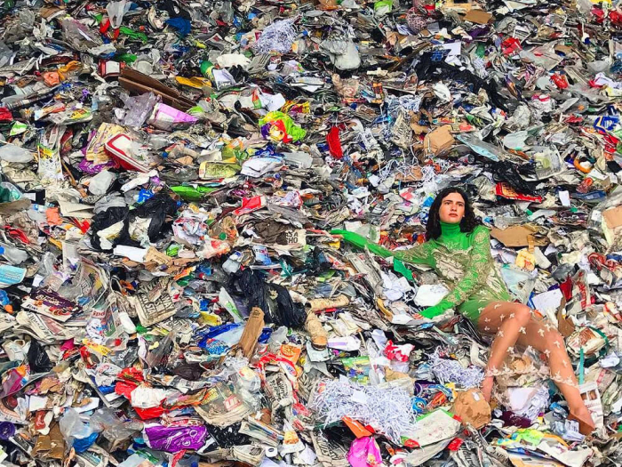 What are the impacts of food waste, textiles & landfills on the environment? -  INFOGRAPHIC