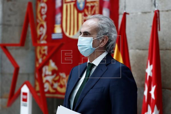 Madrid realizará test PCR a población de zonas con mayor presencia del virus