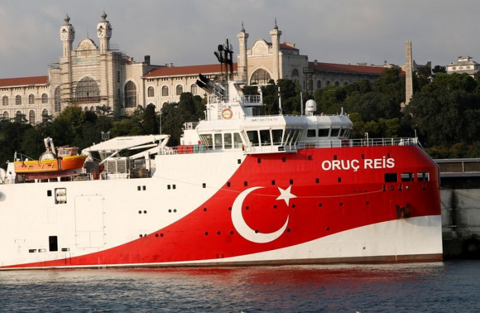 Greek and Turkish warships involved in