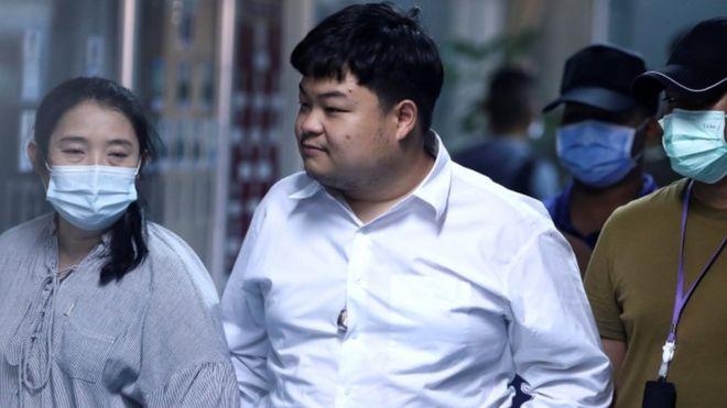 Thai police arrests democracy activist Parit Chiwarak