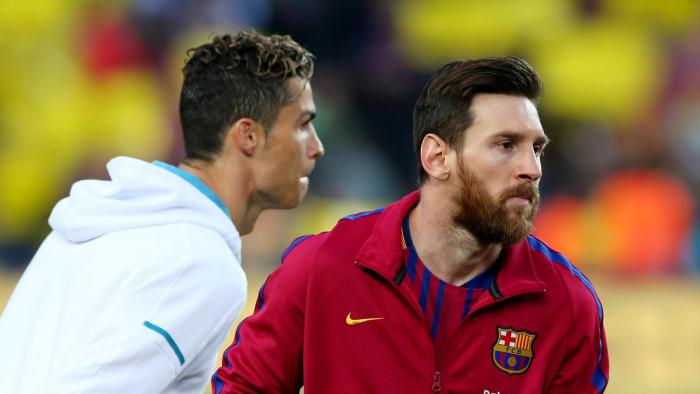 Messi y Ronaldo no estarán en una semifinal de la Champions por primera vez en 15 años