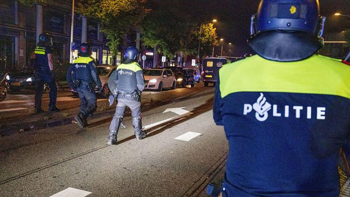 More than 20 arrested after overnight rioting in The Hague