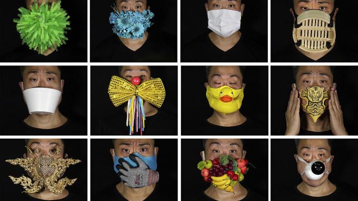 Creative face masks for coronavirus -   NO COMMENT