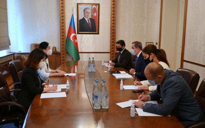 Azerbaijani FM meets with Chinese Ambassador to Azerbaijan