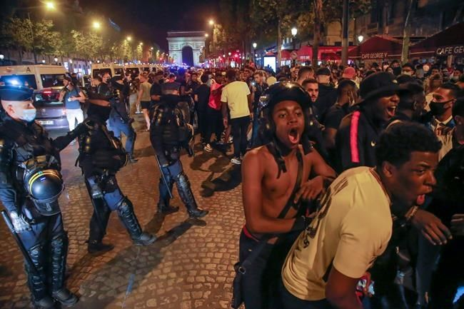 French police arrest 36 after fans celebrate long-awaited PSG victory