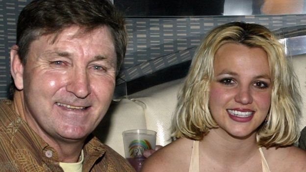 Britney Spears files application to end father