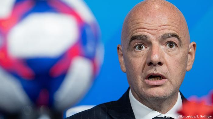 Gianni Infantino cleared of corruption allegations byFIFA ethics committee