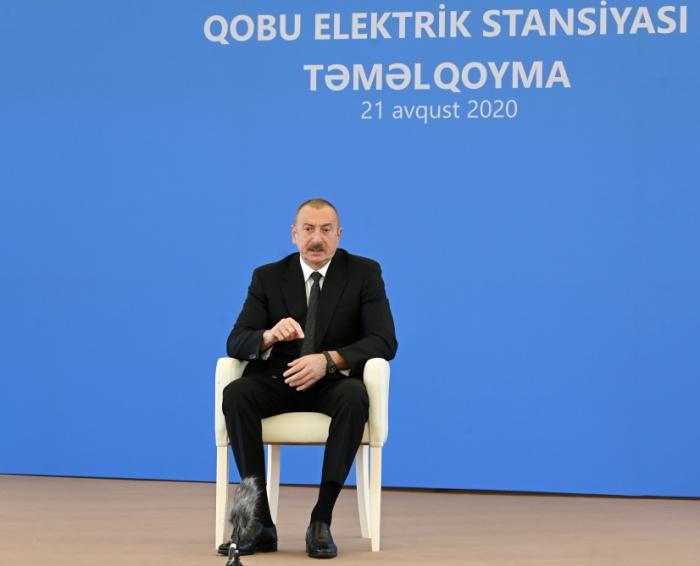 Ilham Aliyev: World