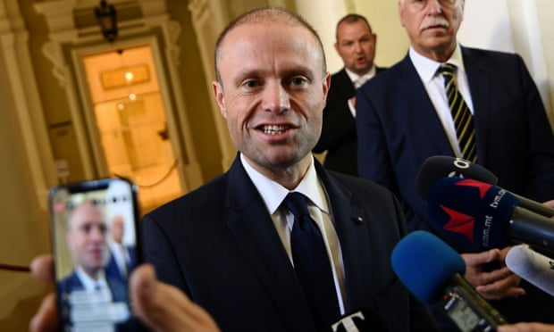Malta Police question former PM over journalist murder inquiry