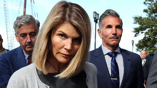 US actress arrested for college admissions scam