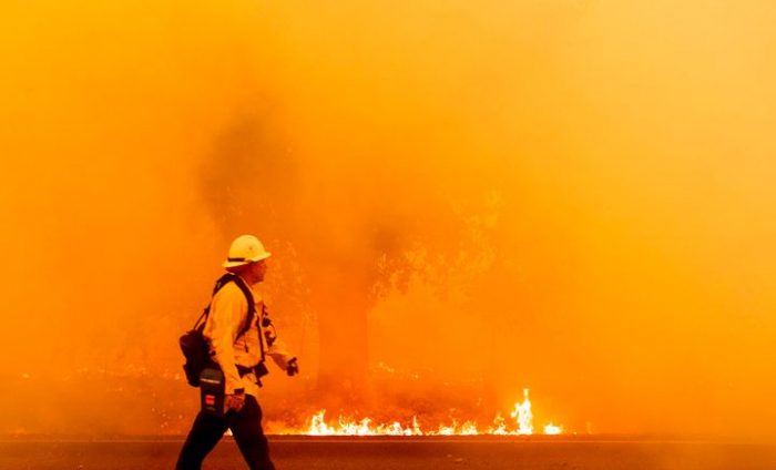 What happens if wildfire hits during a pandemic?