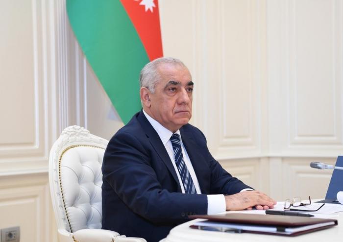 Azerbaijani PM congratulates Turkish VP