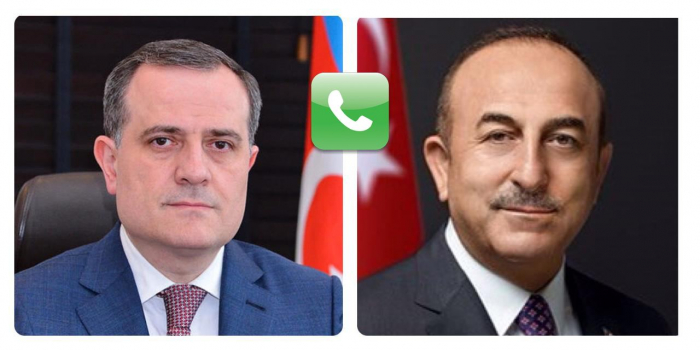 Azerbaijani, Turkish foreign ministers discuss discovery of gas field in Black Sea