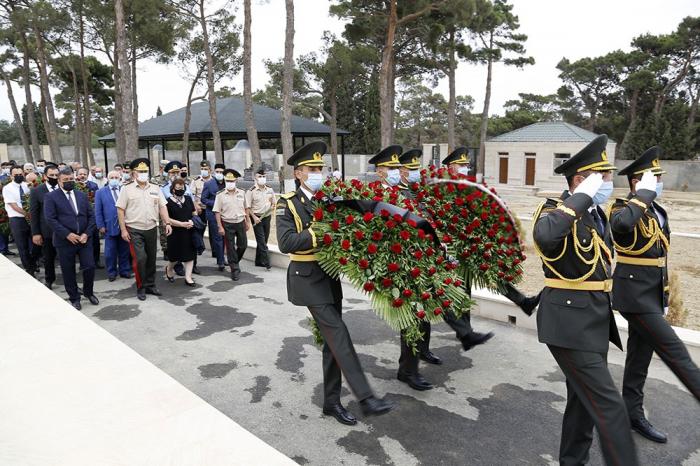 Gedenken an aserbaidschanische Soldaten, die in Tovuz-Schlachten starben