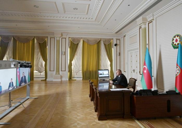 President Ilham Aliyev receives new heads of Bilasuvar, Saatli executive authorities