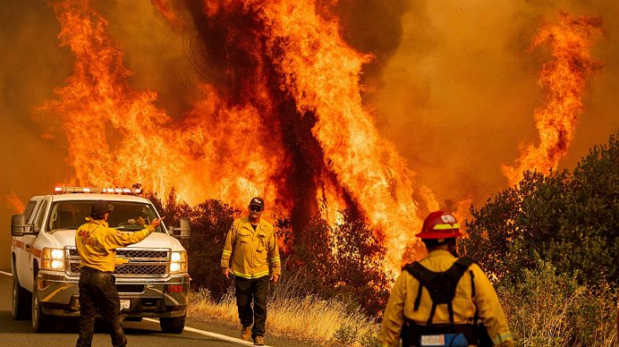 Thousands of lightning strikes lead torecord wildfires in California