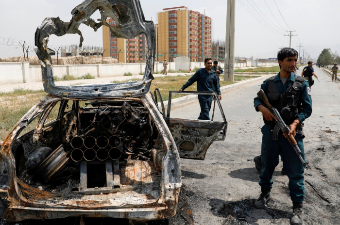 Series of attacks in Afghanistan leave dozens of dead and wounded