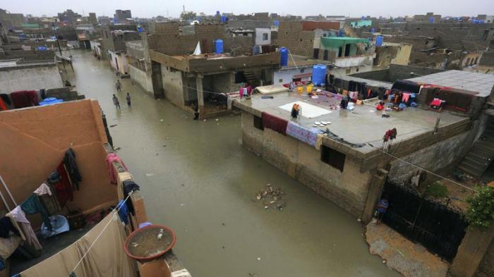 Heavy monsoon rains leave at least 90 dead in Pakistan