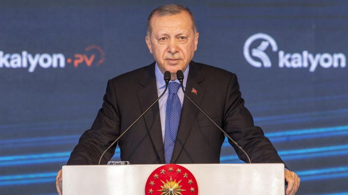 Erdogan says Turkey has no designs on any other country