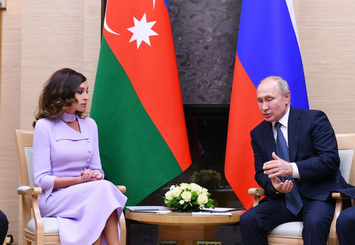 Russia's Putin congratulates Azerbaijani First VP Mehriban Aliyeva
