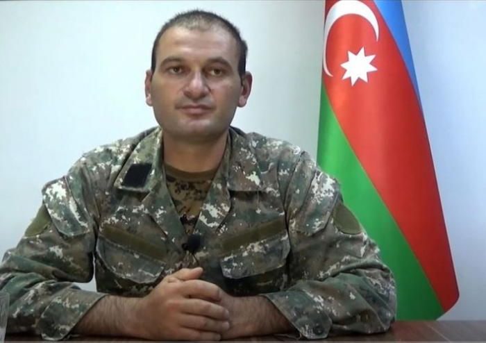 Captured Armenian commander